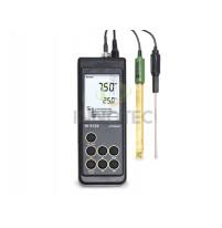 Máy đo pH, nhiệt độ Hanna HI9124 chống thấm nước