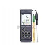 Máy đo pH, nhiệt độ ORP Hanna cầm tay HI9125 với CAL Check