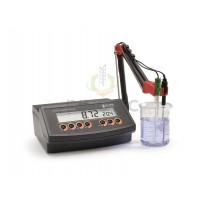 Máy đo pH, nhiệt độ, ORP để bàn Hanna HI2211