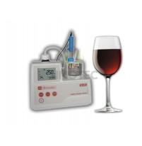 Máy chuẩn độ Mi455 Milwaukee đo SO2 tổng và tự do trong rượu