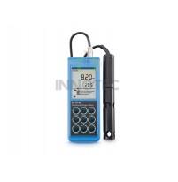 Máy đo oxy hòa tan HI9146-04 Hanna hiệu chuẩn tự động dải 0-45mg/l copy